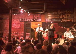 French Quarter jazz club, New Orleans