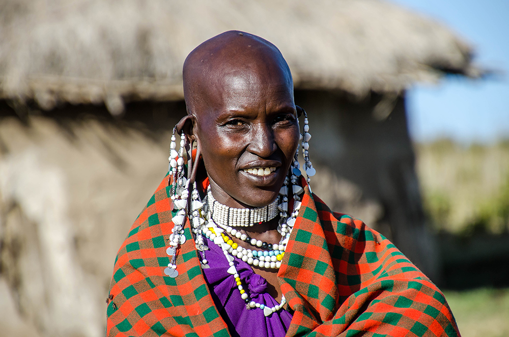 Maasai tribe, the Highlands